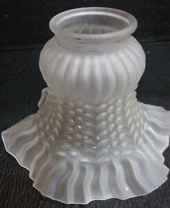 Vtg-Art-Deco-Embossed-Frosted-Glass-Light-Shade-replacement-lamp-shade-ol8-4