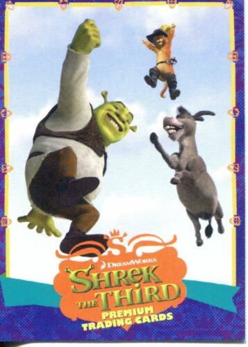 Shrek The Third Promo Card S3-NY