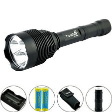 Tactical LED Flashlight Trustfire 3800LM CREE XM-L2 ON/OFF Torch + 18650 Battery