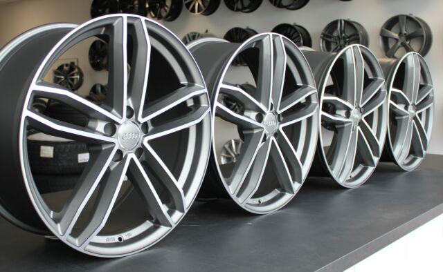 Audi S6 A6 F2 C8 Q5 SQ5 FY Q3 8U F3 S8 A8 F8 4N Daytonagrau 21 Zoll Felgen WH34