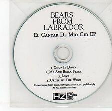 (DV394) Bears From Labrador, El Cantar De Mio Cid EP - DJ CD