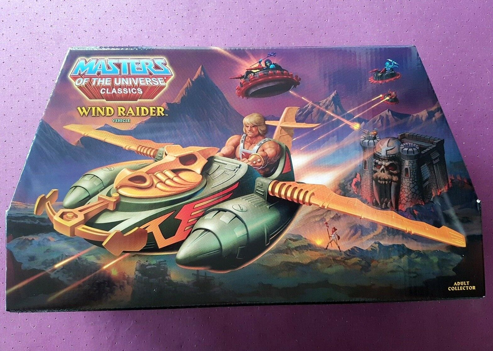 Motuc WIND Raider MOTUC Masters of the Universe OVP He Man Mattel