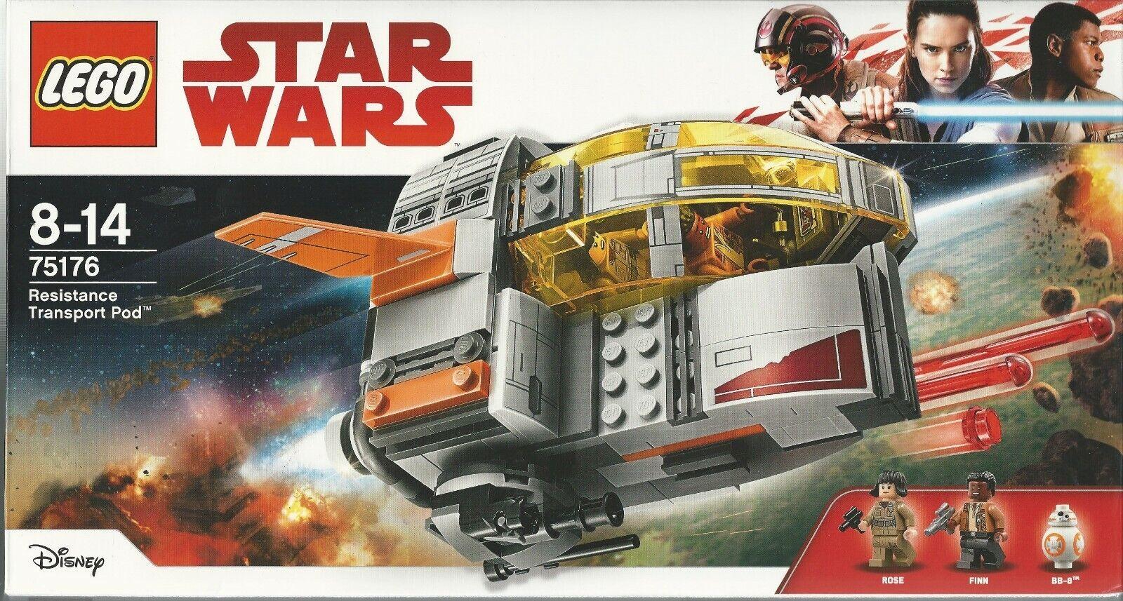 LEGO STAR STAR STAR WARS 75176 RESISTANCE TRANSPORT POD  pink Finn BB 8 New Nib Sealed 2eb144