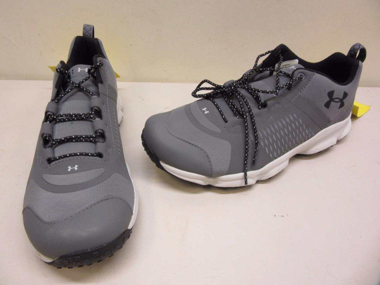 Under Armour Speedfit Hiker Low Uomo Size 9 US Shoe Grigio ~SMS Samples