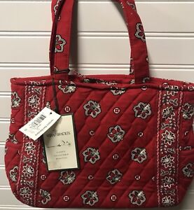 Vera-Bradley-Retired-Rare-Red-Bandanna-Hampton-Never-Used-With-Tag