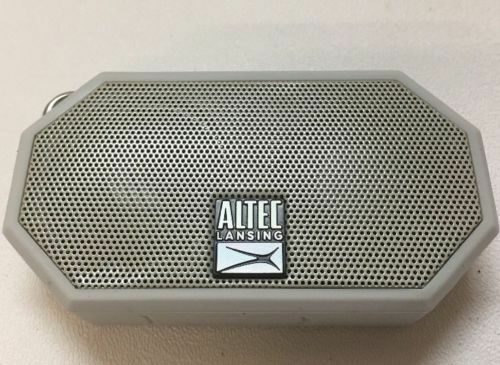 Altec Lansing Mini H20 3 Wireless Waterproof Bluetooth Speaker
