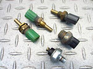 2000 00-03 Suzuki GSXR 750 GSXR750 Engine Motor Coolant Pressure Temp Sensor OEM
