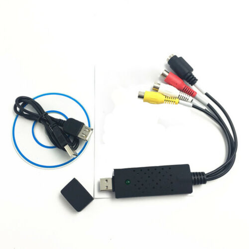 VHS to Digital File Converter Express USB 2.0 to Video Grabber Audio AV Computer