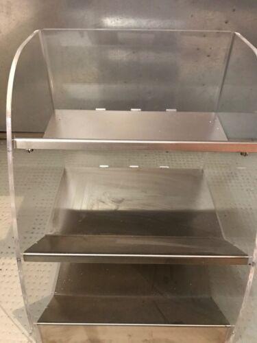 Kombi Box 3 Fächern Behälter für Eislöffel, Trinkhalme, Servietten ist Neu.