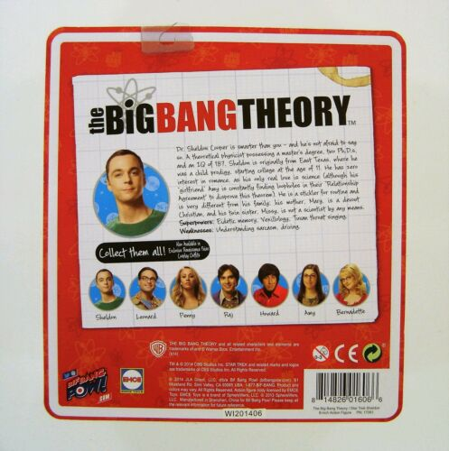 "BBP The Big Bang Theory//Star Trek The Original Series Sheldon comme Spock 8/"" Figure"