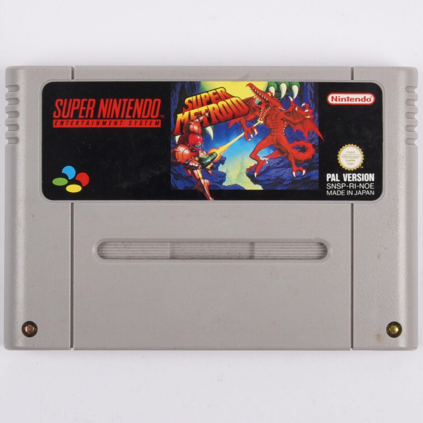 Snes - Super Metroid Spiel Für Super Nintendo