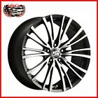 "Cerchio in lega OZ MSW 20/5 Matt Black Full Polished 16"" Alfa Romeo GIULIETTA"