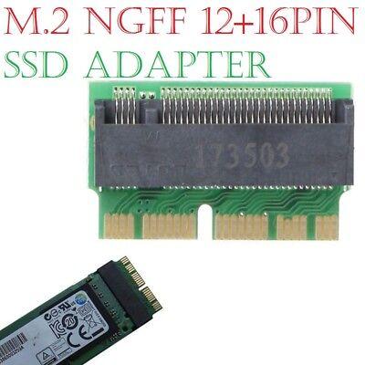 M Key M.2 PCI-e To 12+16Pin AHCI SSD Adapter Card