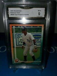 GMA-9-MINT-2003-Grandstand-Tampa-Yankees-Robinson-Cano-Minor-League-ROOKIE