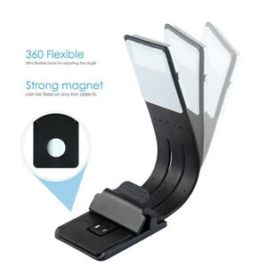 USB-Rechargeable-LED-Book-Light-Flexible-Clip-On-Book-Light-Night-Reading-Lamp