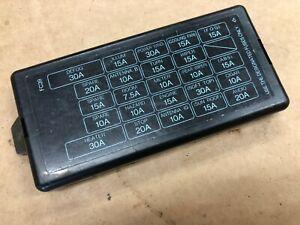 [DIAGRAM_5FD]  MAZDA RX7 FC S5 FUSE BOX COVER - JIMMYS | eBay | Fc Rx7 Fuse Box 1990 |  | eBay