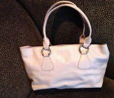 Vintage Claudia Firenze Light Pink Leather Handbag