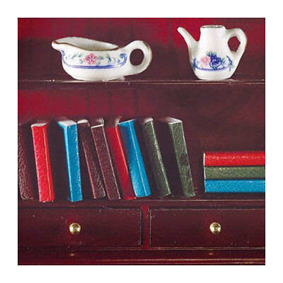 12 Stück # Zu Den Ersten äHnlichen Produkten ZäHlen 1:12 Für Puppenhaus Neu Billiger Preis Dolls House 4096 Bücher Klein
