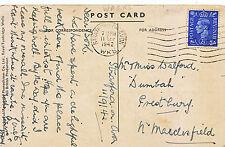 Genealogy Postcard - Family History - Walford - Prestbury - Macclesfield   Y955