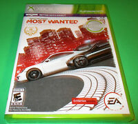 Need For Speed: Most Wanted -limited Edition-xbox 360 Factory Sealed Free Ship