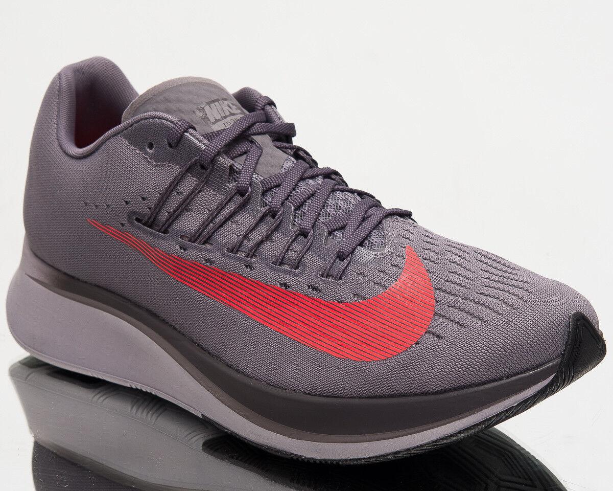 Nike Zoom Fly Mens Running schuhe schuhe schuhe Men New Gunsmoke Bright Crimson 880848-004 0d5d42