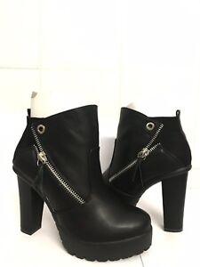 Justfab, Damen Stiefel & Stiefeletten schwarz schwarz