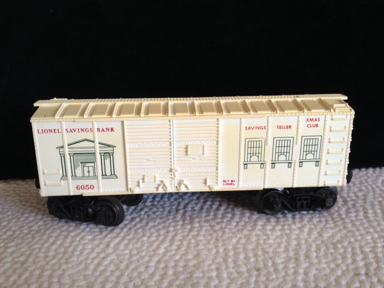Lionel 1961 Cassa di Risparmio scatola auto  6050