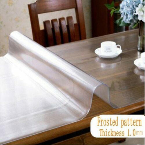 Mantel de PVC a prueba de agua mantel de Mantel transparente para mesa estera