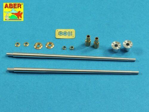 57mm S-68 BARRELS to ZSU-57 SOVIET SPAAG //TAKOM or TRUMPETER// #35L205  1//35 ABER