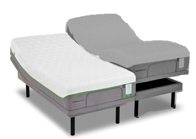 Split Queen Adjustable Bed >> Tempur Ergo Premier Adjustable Base Split Queen Purchase 2 For Set