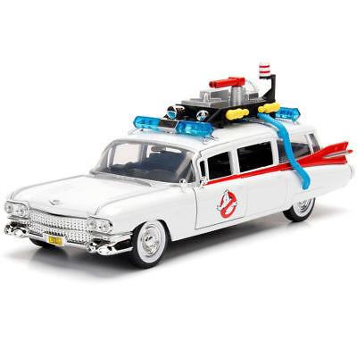 Jada Hollywood Rides Ghostbusters Ecto-1 Cadillac Ambulance 1:32 30207 DP1