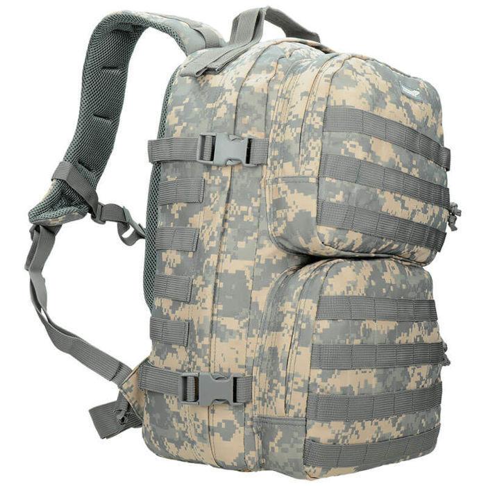 Texar Tactique Sac à dos style militaire scout 35 L molle combat UCP
