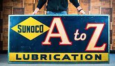 Original 1939 Sunoco Motor Oil Sign