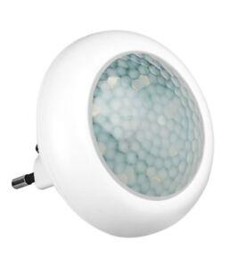 led nachtlicht mit bewegungsmelder f r steckdose lampe notlicht 8 led s nur 0 9w ebay. Black Bedroom Furniture Sets. Home Design Ideas