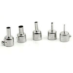5Pcs-Universal-Meatal-Heat-Gun-Resisting-Nozzles-Hot-Air-Guns-Silver-for-45x24mm