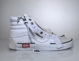 c020c433145970 Vans Sk8-Hi Cap LX Reissue Ca Checkerboard True White Black ...