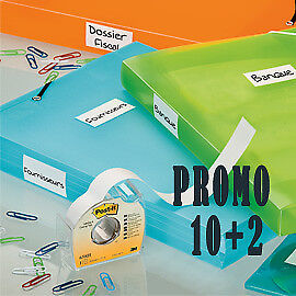 56882 PROMO PACK 10+2 POST-IT COVER-UP 658-H 25MMX17,7M