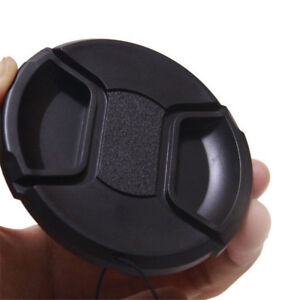 52mm-center-pinch-snap-on-Front-Lens-Cap-Cover-for-Canon-Nikon-Sony-w-string