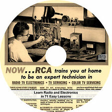 Learn Radio and Electronics in 71 Easy Lessons - RCA Course on CD