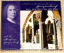 NEU, OVP - Graf Zinzendorf - Herr, dein Wort, die edle Gabe. Buch mit Audio-CD
