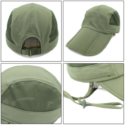 Sun Hat Baseball Cap UV Protection Anti-mosquito Removable Neck Flap Face Covers