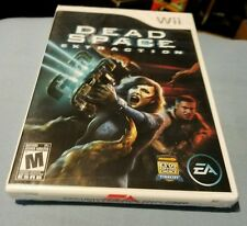 DEAD SPACE EXTRACTION NINTENDO Wii US RETAIL GAME FACTORY SEALED BRAND NEW
