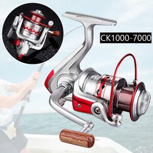 Left//right Hand Ball Bearing Saltwater Freshwater Fishing Spinning Reel