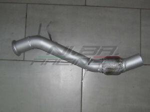 Dettagli Su Downpipe Tubo Rimozione Dpf Fap Bmw Serie 1 118d 143 Cv E81 E82 E87 E88