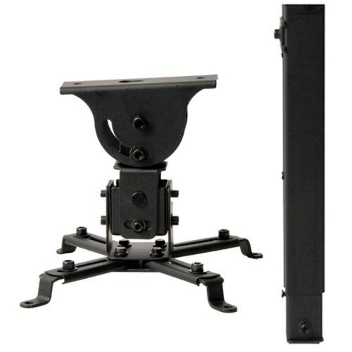 LCD//DLP Projector Vaulted Ceiling Mount Tilt Bracket 44lbs w// Extension Pole CXQ