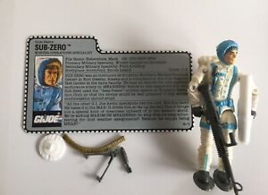 Vintage-1990-GI-Joe-3-75-034-SUB-ZERO-v1-Figure-amp-File-Card