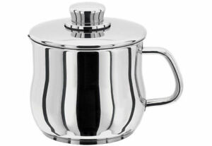 STELLAR 1000 Stainless Steel 14cm Saucepan/Pot with Lid. Gravy/Milk/Sauce. 1.7 L