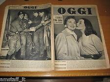 RIVISTA OGGI 1956/13=SHARON KAY RITCHIE=MARISA PAVAN=VERA SCHENONE=ARTIGLIO I=