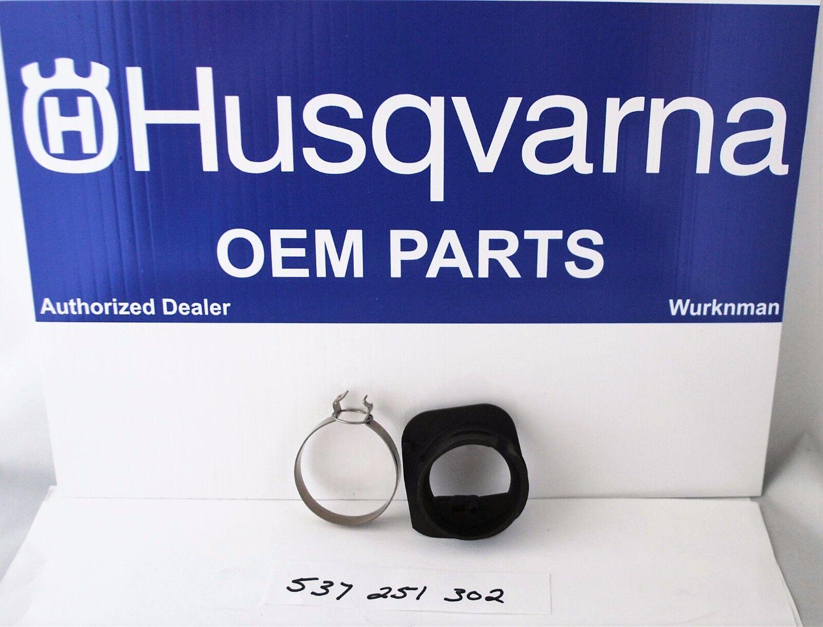 Intake-Clamp Husqvarna 340 E 346 XP 350 353 357 XP 359 Chainsaw 537438801 OEM