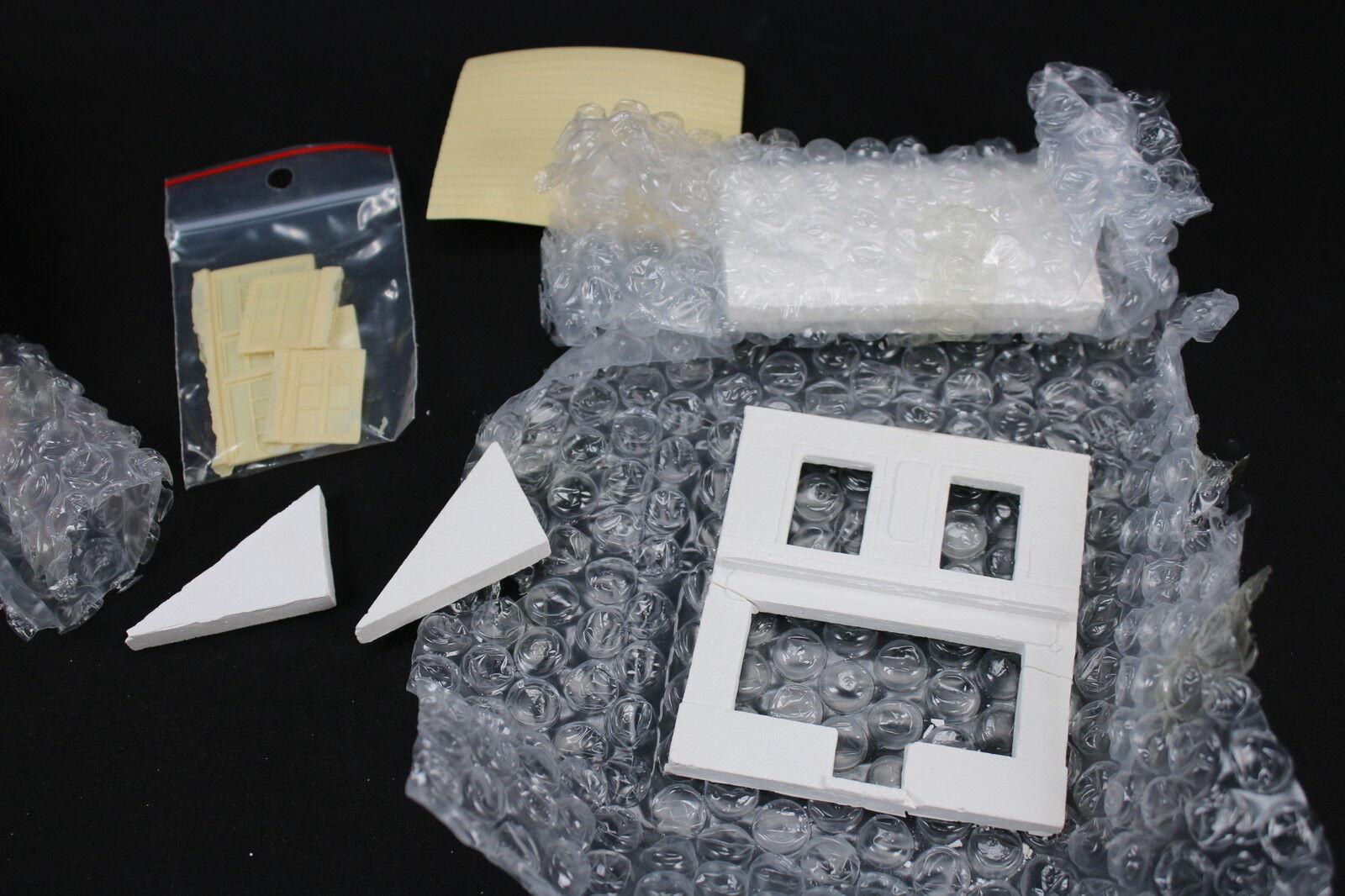 YY034 JMP Productions Rare Construction Plaster Plaster Plaster 72040 Facia House Diorama Street 683